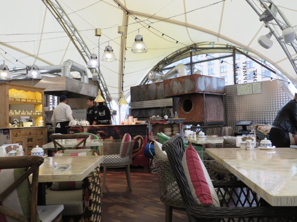 Lunch at the Armenian/Russian hookah bar.