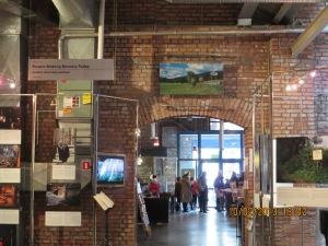 Inside the Zydowskie Muzeum Galicja in Krakow.