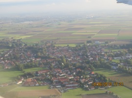Air view of Munich.